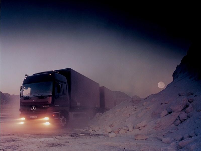 Mercedes-Benz Actros 4 раза становился грузовиком года