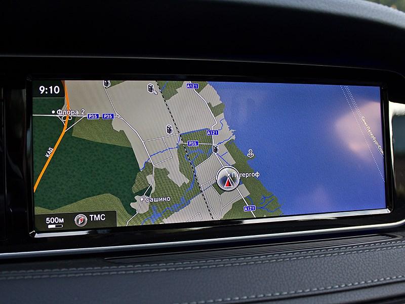 Mercedes-Benz S-Klasse 2013 навигация