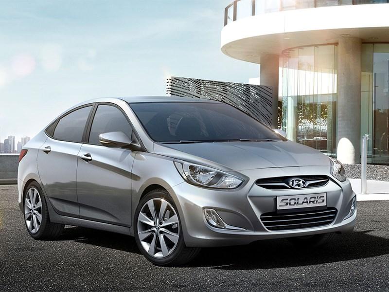 На российском рынке продано более трехсот тысяч Hyundai Solaris