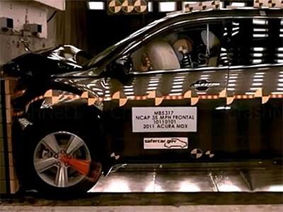 Премиальные кроссоверы Acura прошли краш-тесты на высшую оценку