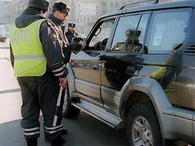 За пять дней сотрудники ГИБДД изъяли у москвичей огромное количество оружия