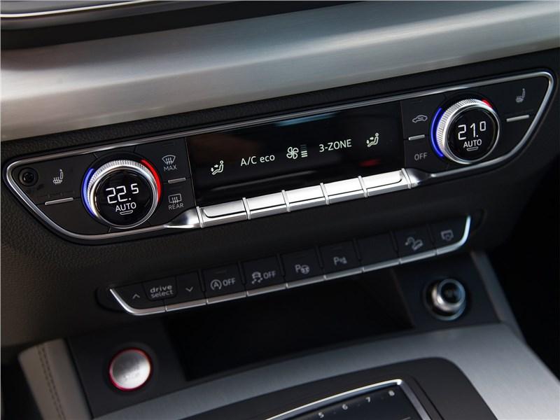 Audi SQ5 3.0 TFSI 2018 управление климатом