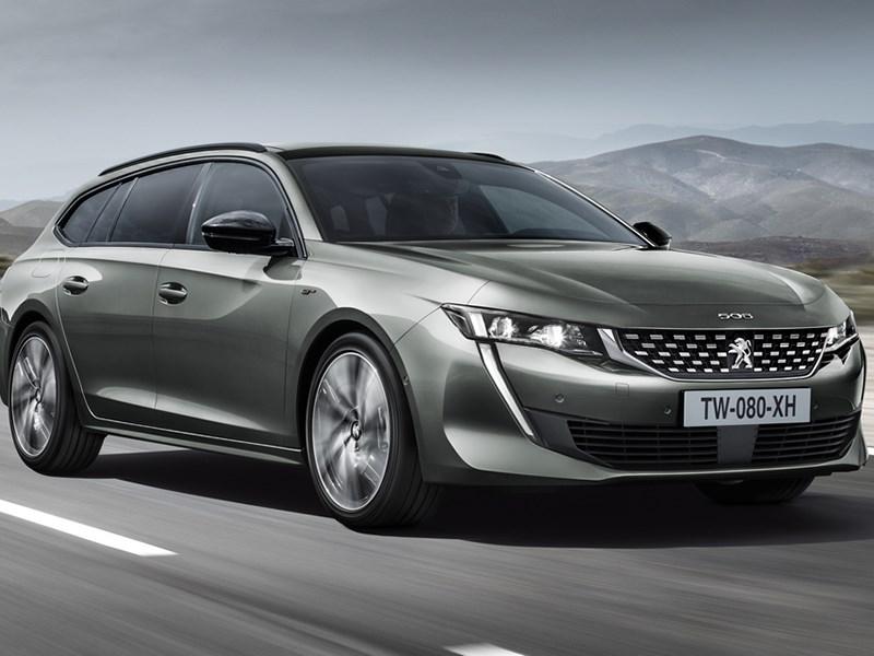 Peugeot представил универсал 508 SW