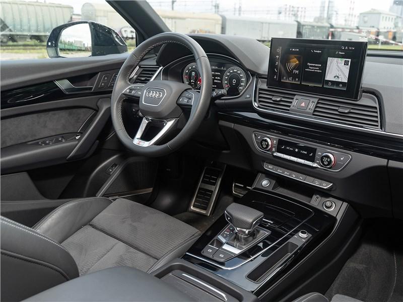 Audi Q5 (2021) салон
