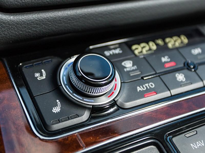Audi A8 2014 управление климатом