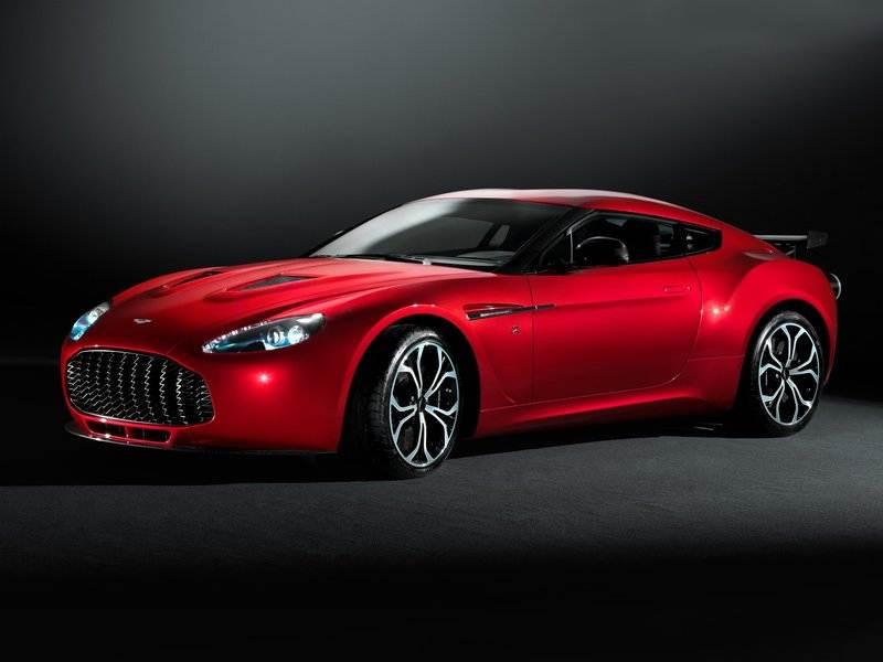 Новый Aston Martin V12 Zagato - Aston Martin V12 Zagato 2012 вид спереди