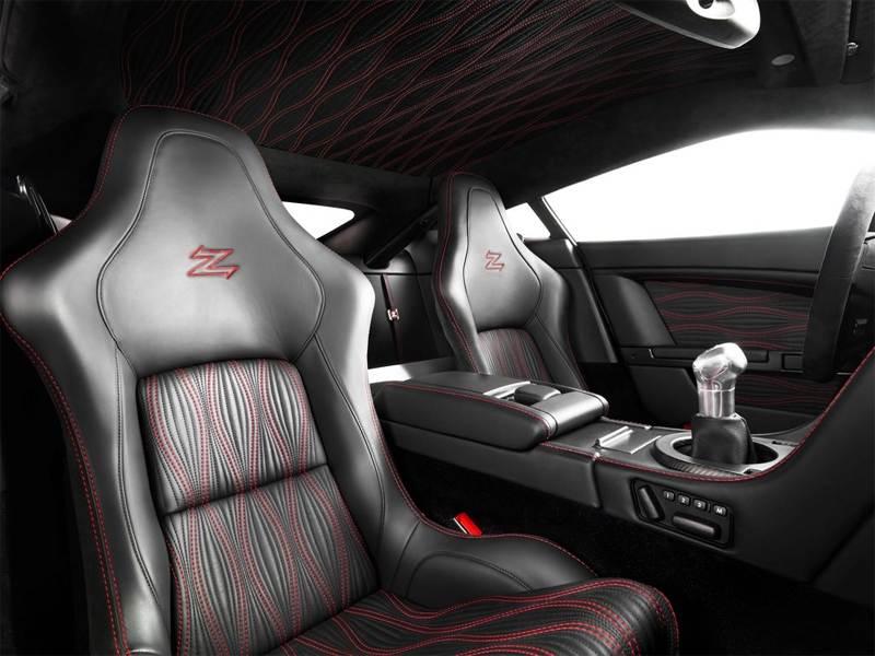 Aston Martin V12 Zagato 2012 интерьер