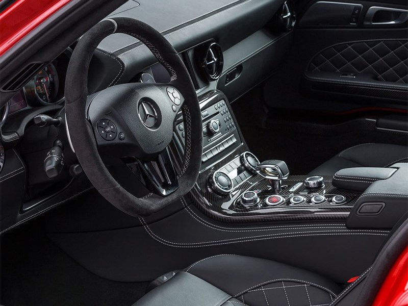 Mercedes-Benz SLS AMG GT Final Edition 2014 водительское место