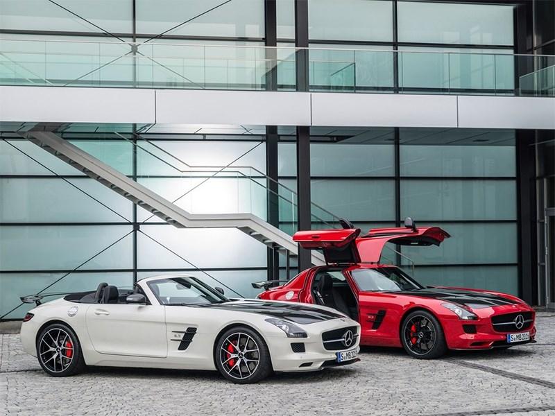 Mercedes-Benz SLS AMG GT Final Edition 2014 вид сбоку
