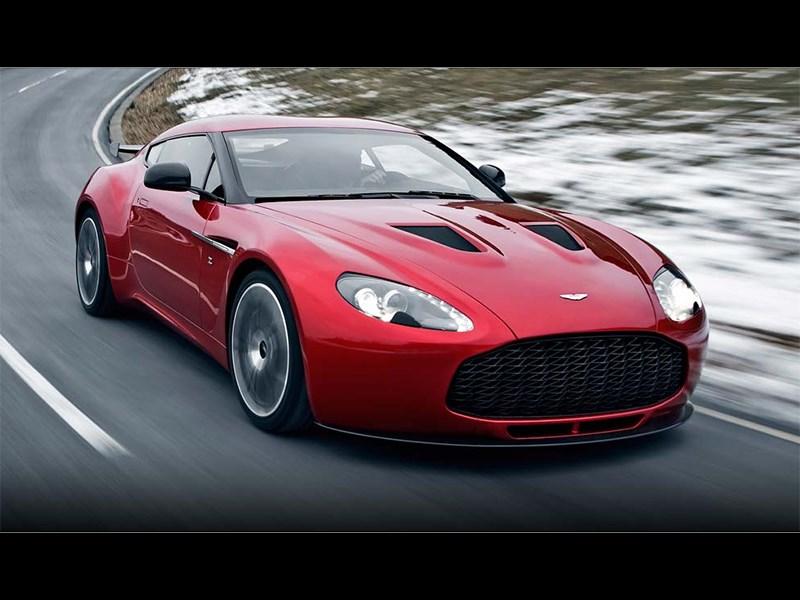 Aston Martin V12 Zagato 2012 вид спереди