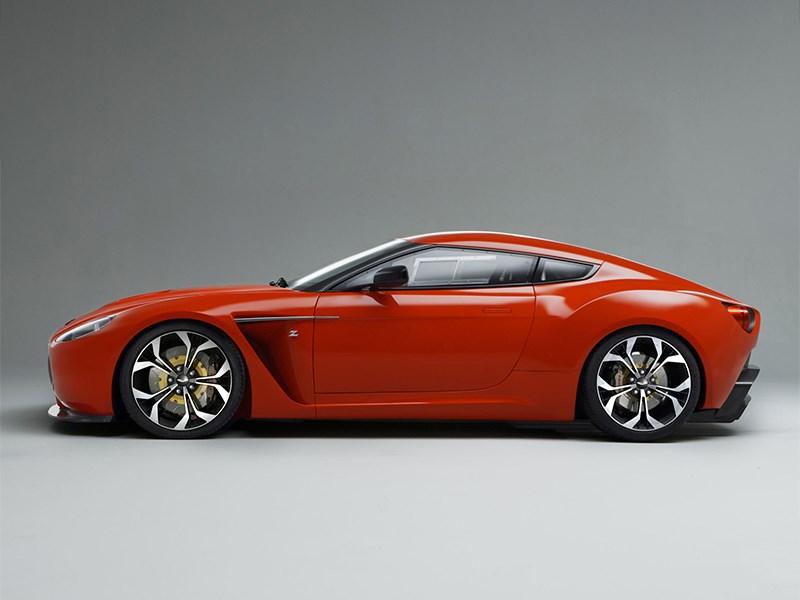 Aston Martin V12 Zagato 2012 вид сбоку