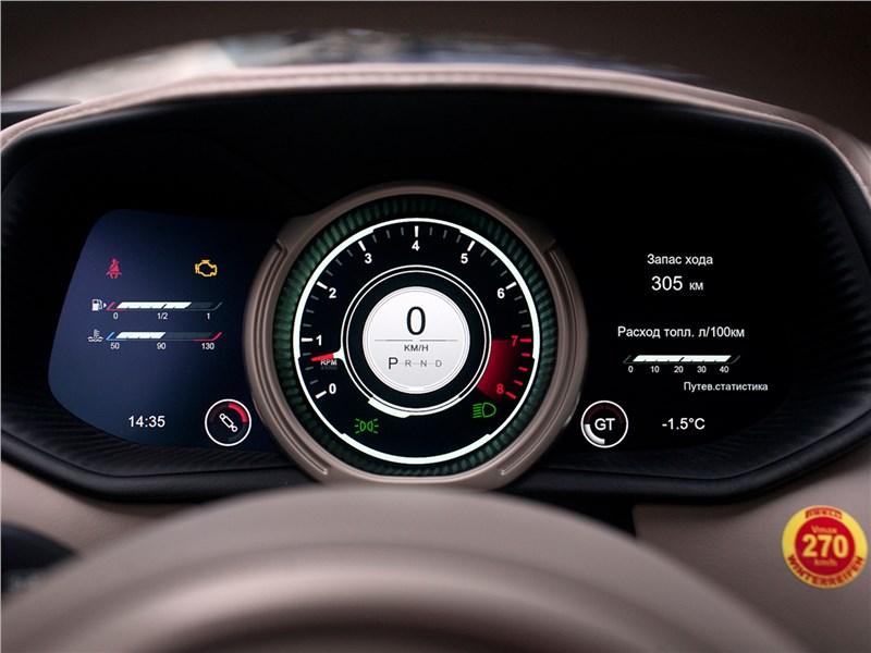 Aston Martin DB11 2017 приборная панель