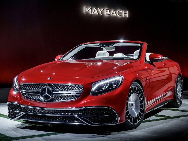 Mercedes-Benz показала первый кабриолет в линейке Maybach