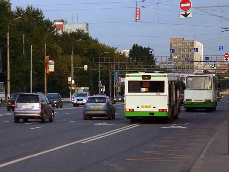 Скорость автобусов в Москве выросла на 30%