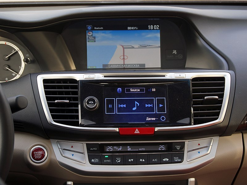 Honda Accord 2013 центральная консоль