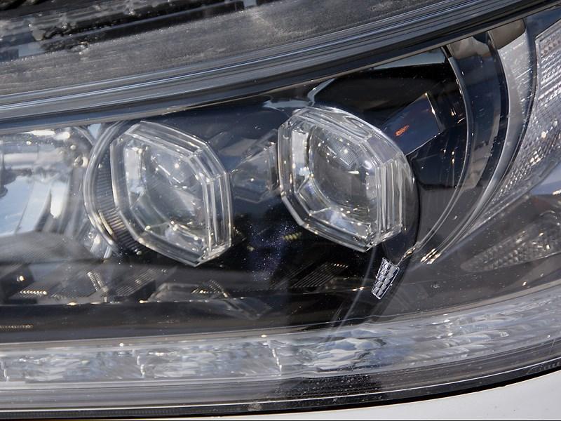 Honda Accord 2013 светодиодные фары