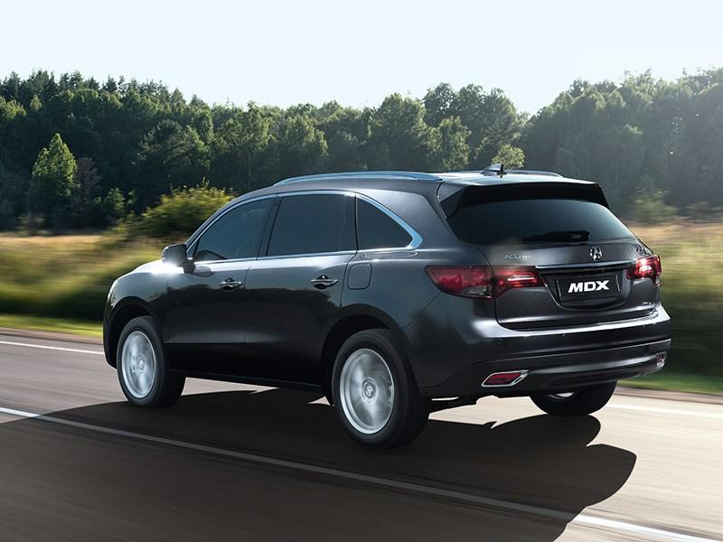 Acura MDX 2014 вид сзади