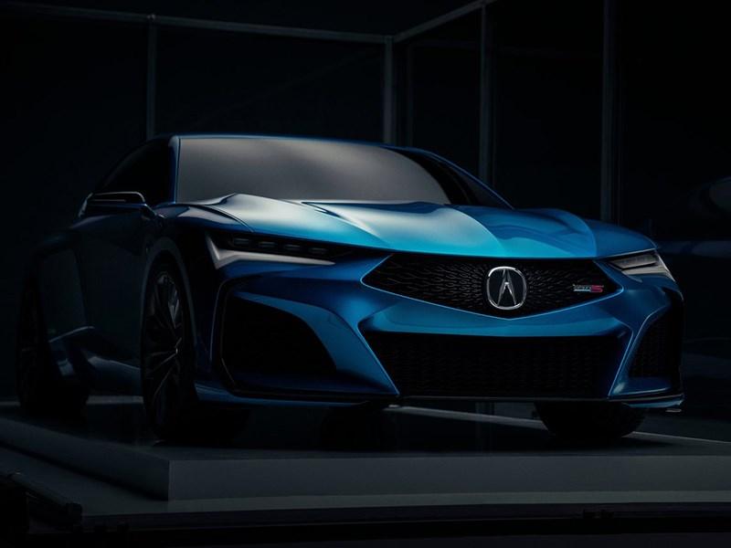 Acura представила «заряженный» седан Type S