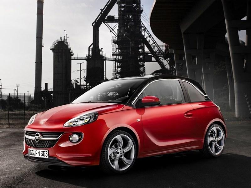 Opel представил своего «Адама»