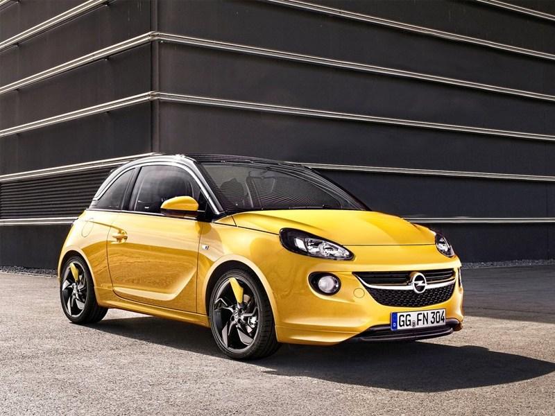 Новый Opel Adam - Opel Adam 2013 вид спереди