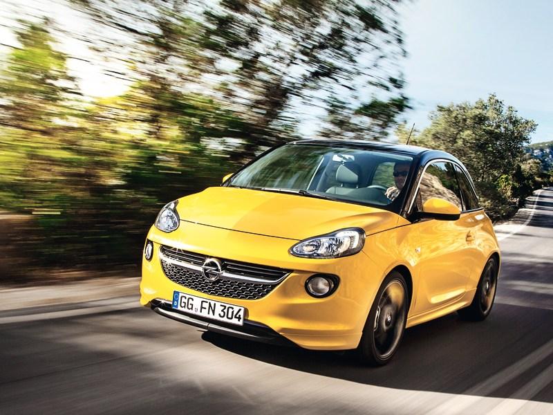 Opel Adam - opel adam 2013 вид спереди