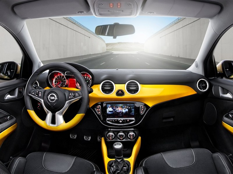 Opel Adam 2013 водительское место
