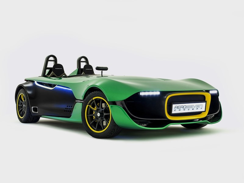 Caterham AeroSeven concept 2013 вид спереди