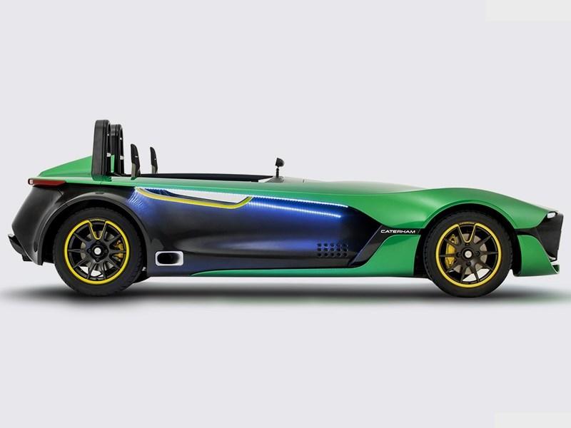 Caterham AeroSeven concept 2013 вид сбоку