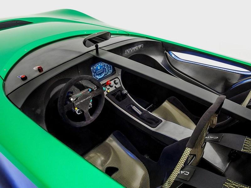 Caterham AeroSeven concept 2013 водительское место