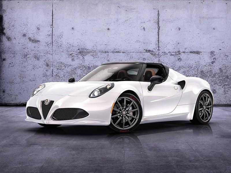 Alfa Romeo 4c concept 2013 вид спереди