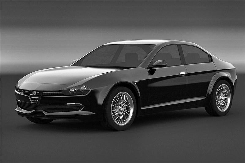 Появился первый тизер роскошного седана Alfa Romeo Giulia