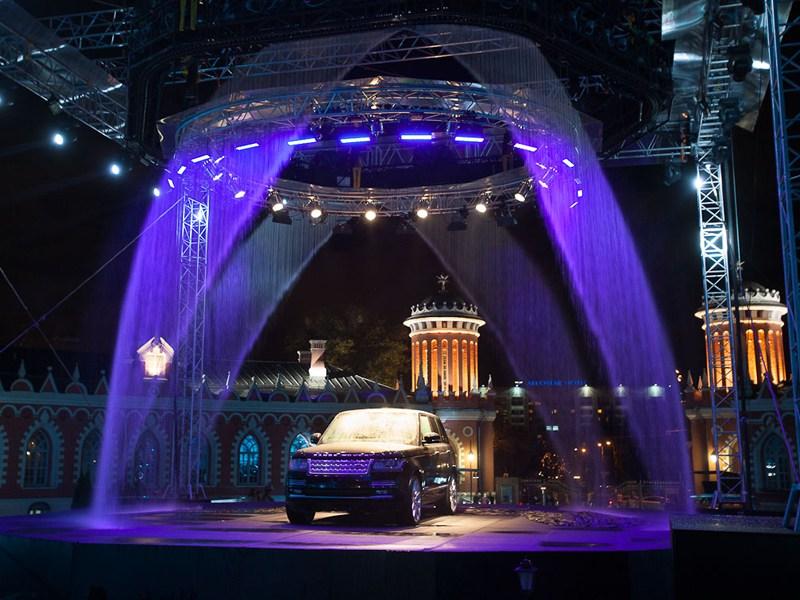 Jaguar Land Rover представила новый Range Rover в Москве