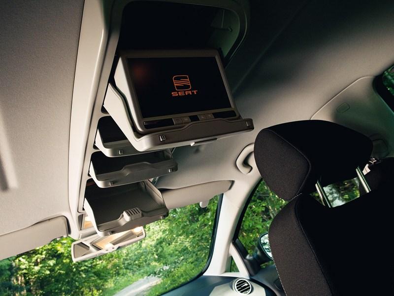 SEAT Altea Freetrack 2008 салон