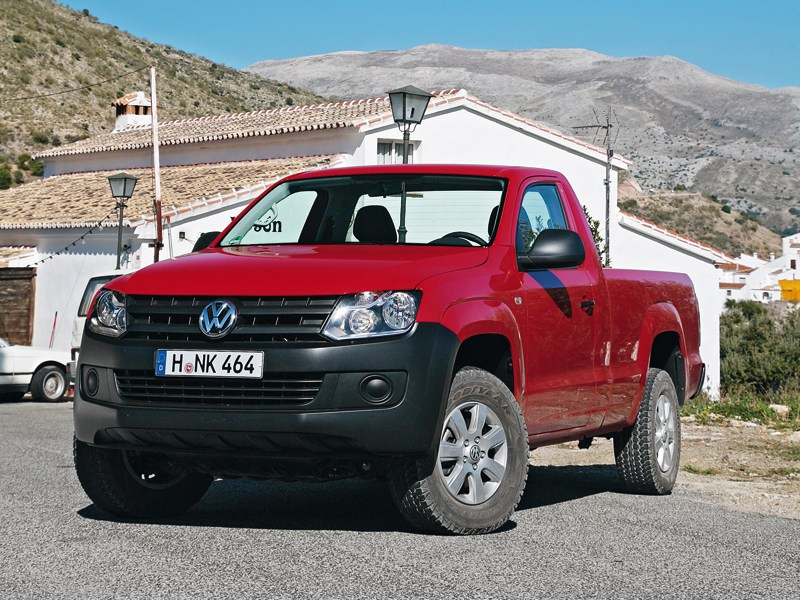 Volkswagen Amarok Single Cab 2012 вид спереди