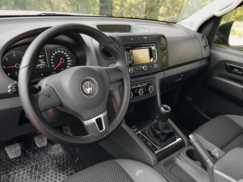 Volkswagen Amarok Single Cab 2012 водительское место