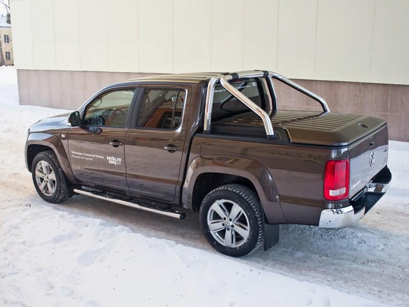 Volkswagen Amarok 2010 вид сбоку