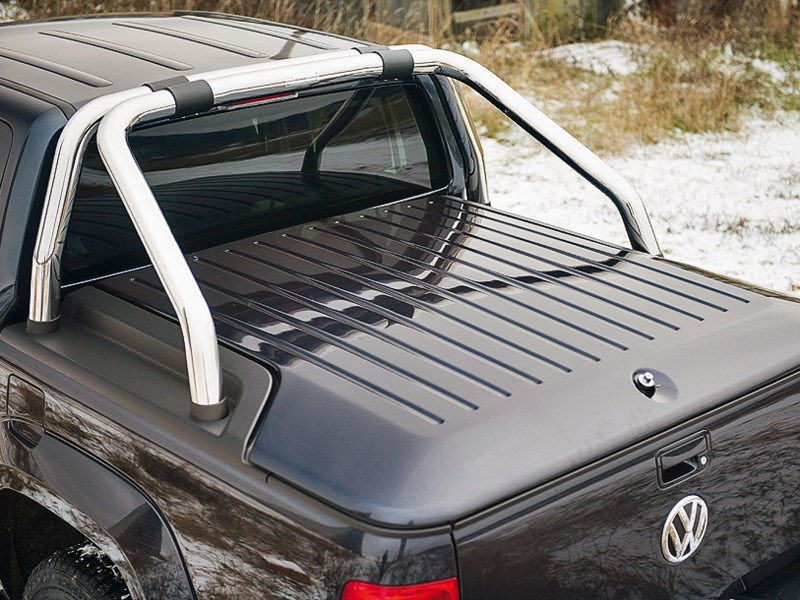 Volkswagen Amarok Double Cab 2011 вид сзади