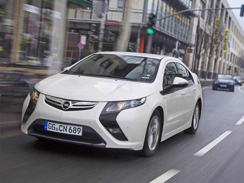 Opel Ampera – самый продаваемый электромобиль в Европе