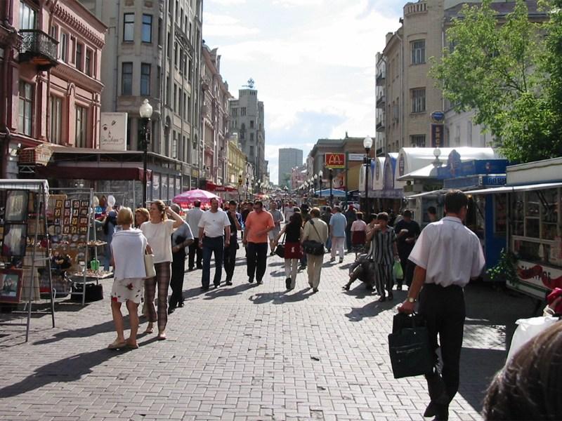 ЦентрМосквы будет пешеходным