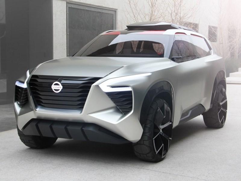 Nissan показал концепт внедорожника с… рыбкой