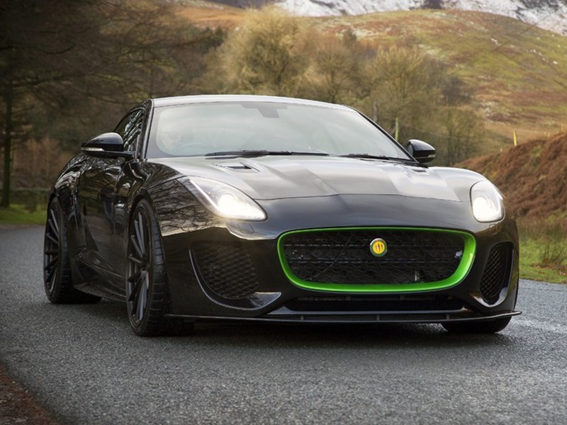 И снова Jaguar: Lister показал спорткар на базе F-Type