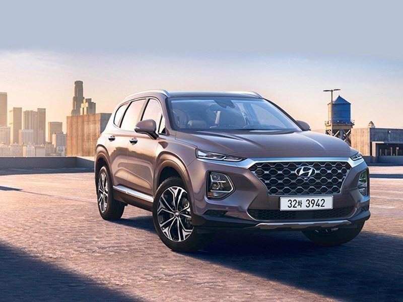 Названа дата появления в России нового Hyundai Santa Fe