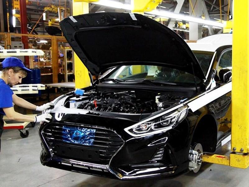 В России начали собирать Hyundai Sonata