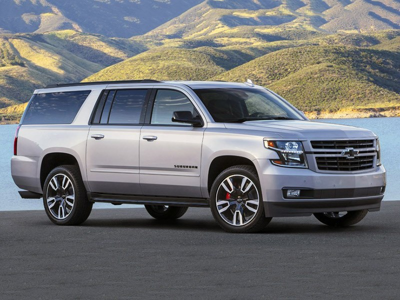 Chevrolet Suburban RST получил «спортпакет»