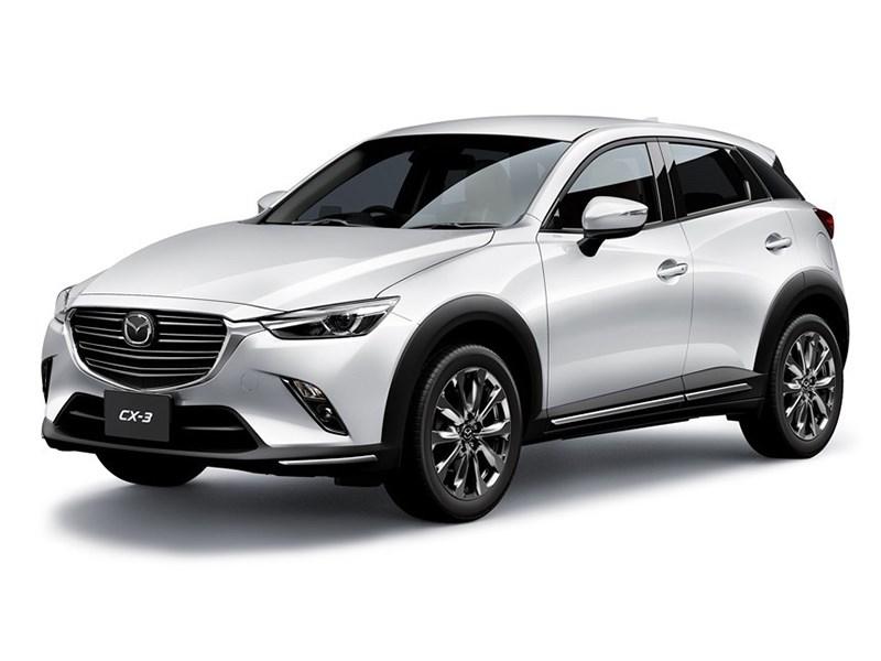Обновленная Mazda CX-3 получила новый турбодизель