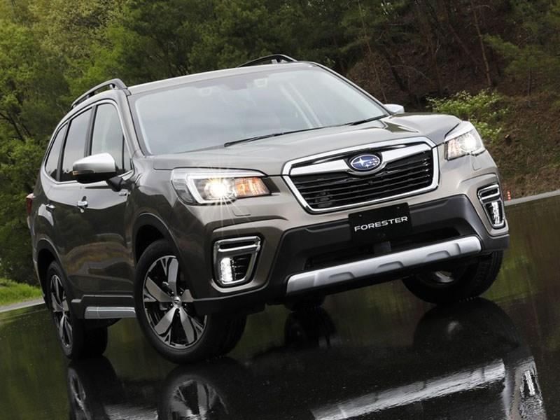 Subaru Forester получил гибридную версию