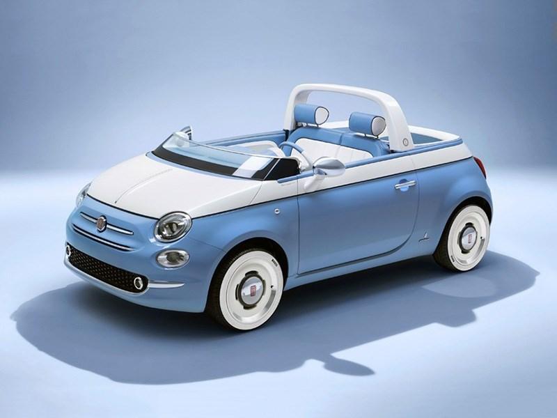 Fiat 500 превратили в пикап