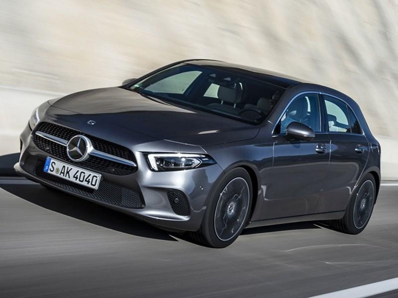 Mercedes-Benz привез в Россию полноприводный А-класс