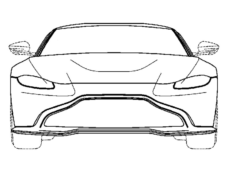 Рассекречен дизайн нового Aston Martin Vantage