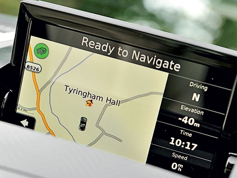 Aston Martin Vanquish 2013 дисплей